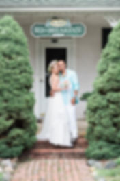 Wedding at Colonial Beach Plaza B&B
