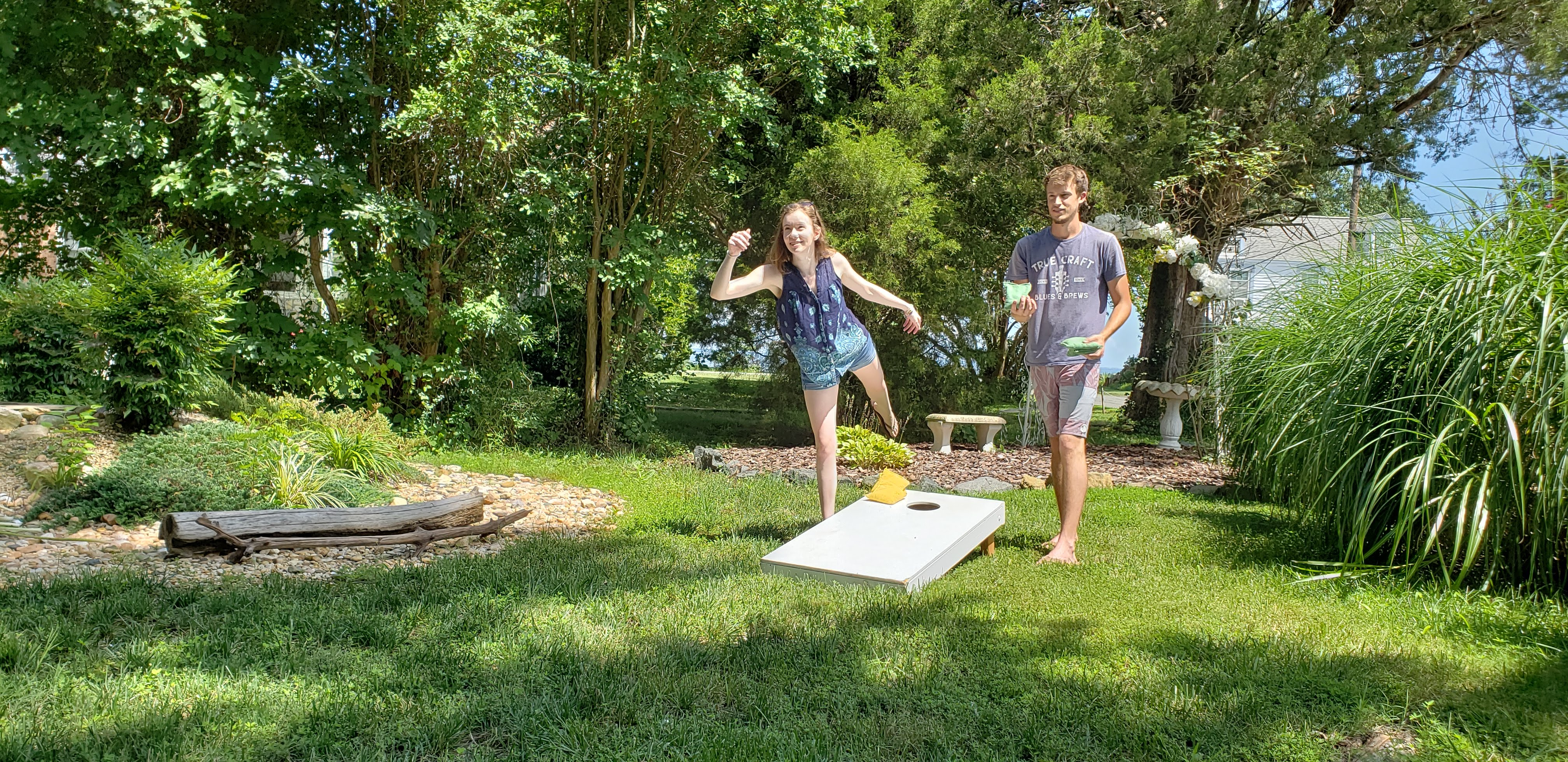 Corn Hole, Bikes, Swimming, and more