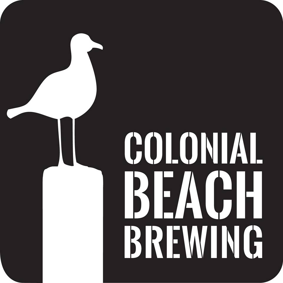 Colonial Beach Plaza Colonial Beach Brewing logo