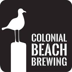 Colonial Beach Plaza Colonial Beach Brewing logo