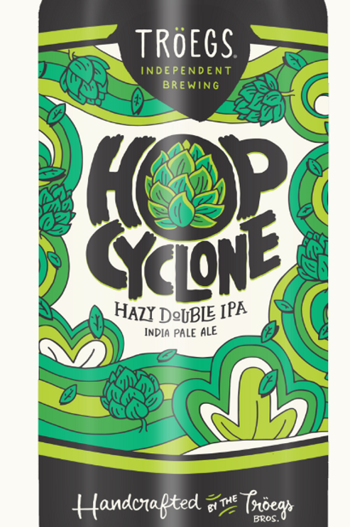 Troegs Hop Cyclone Hazy DIPA 16oz