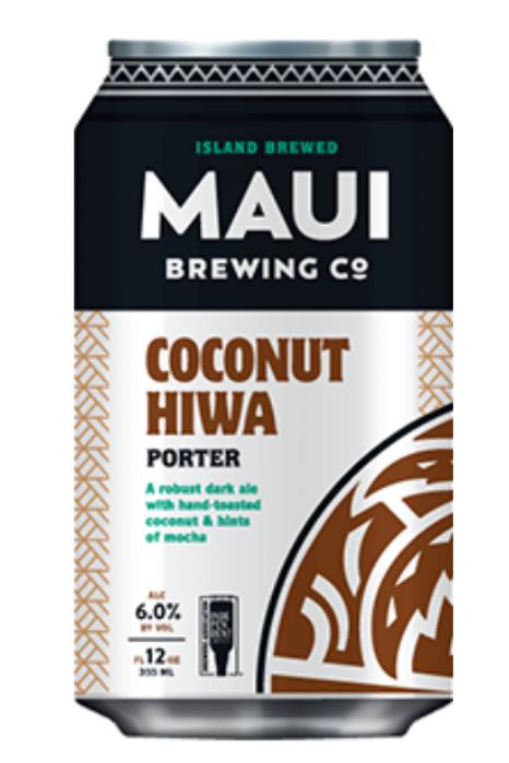 Maui Brewing Coconut Hiwa Porter 12oz