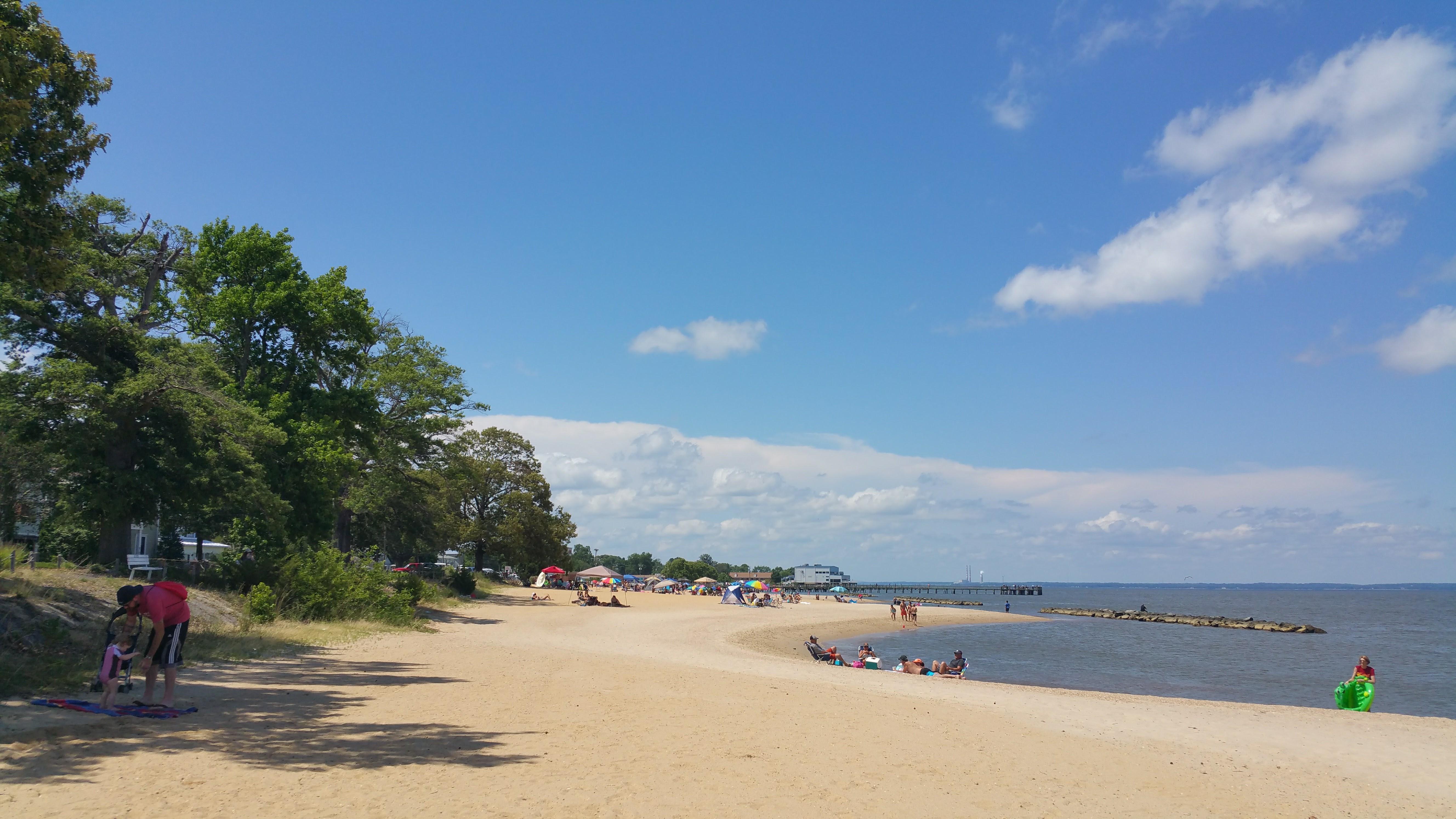 Beautiful Sandy Riverside Beach