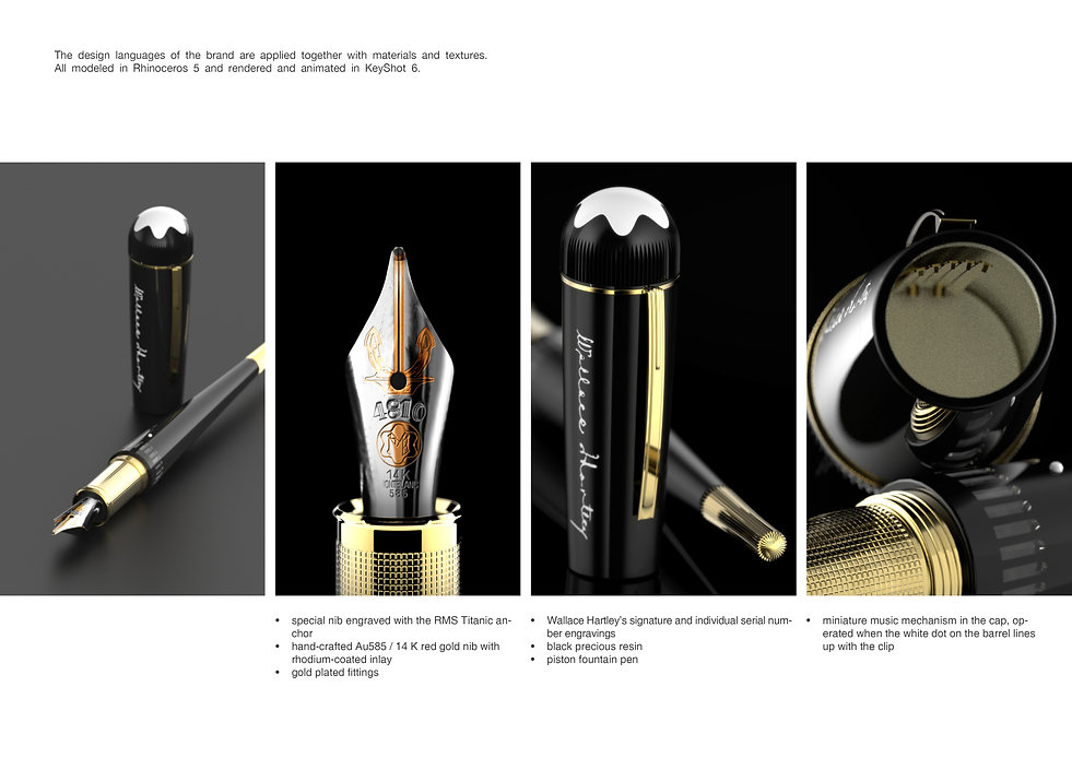 Marco Monterzino Industrial Designer and Innovation Consultant London for Montblanc