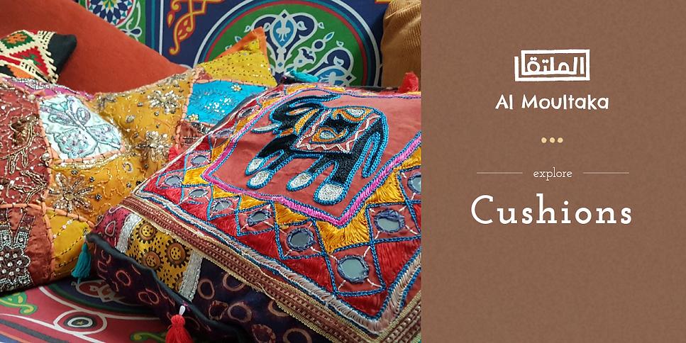 Al Moultaka cushion collection