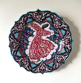 Turkish Ceramic Hanging Plate