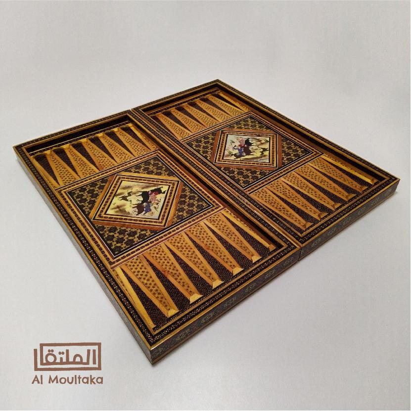 Persian Dual Backgammon and Checkers Board - $199
