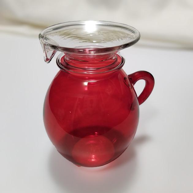 Red sugar and creamer - $15