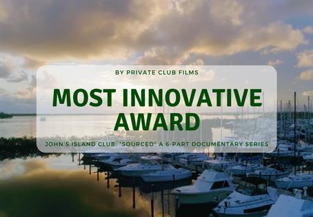 "Award Winning John's Island Club: ""Sourced"" a 6-Part Documentary Series"