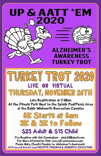 Turkey Trot 11X17 Poster 2020- UPDATED N