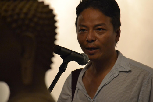 Tenzing Rigdol, storyteller