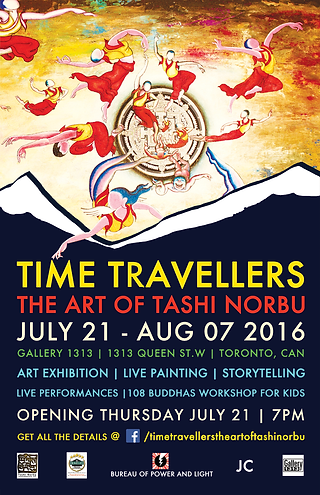 time travellers: The art of tashi norbu