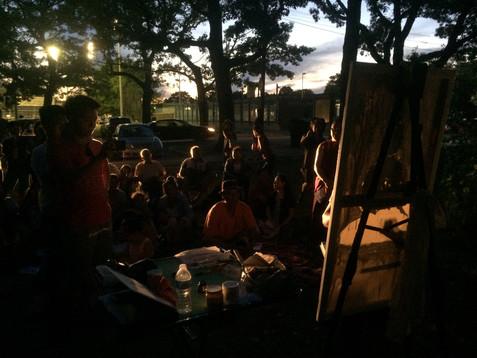 Rehearsal in High Park