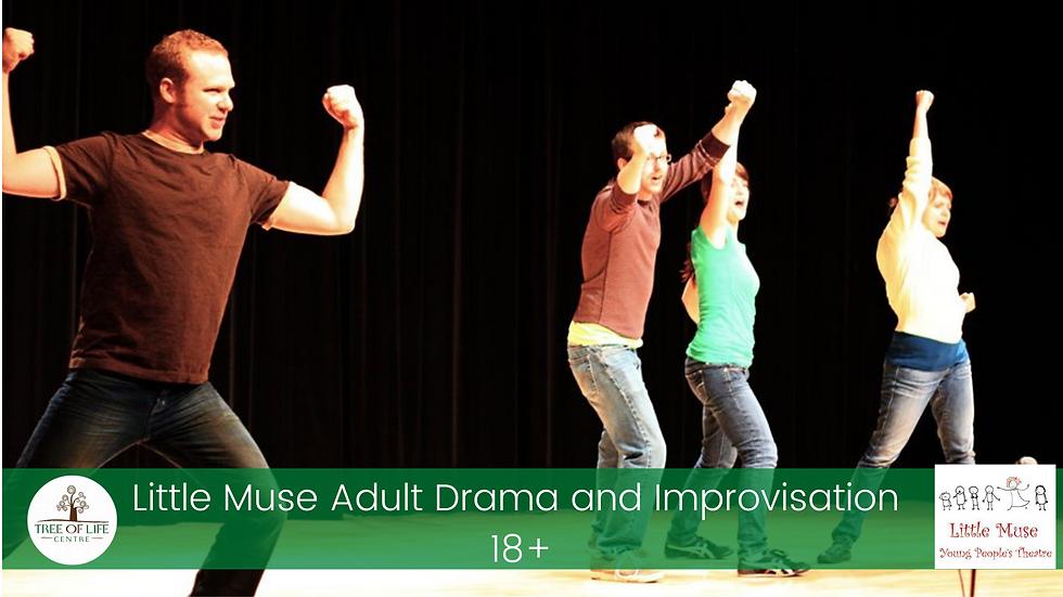 Adult Drama and Improvisation 18yrs+