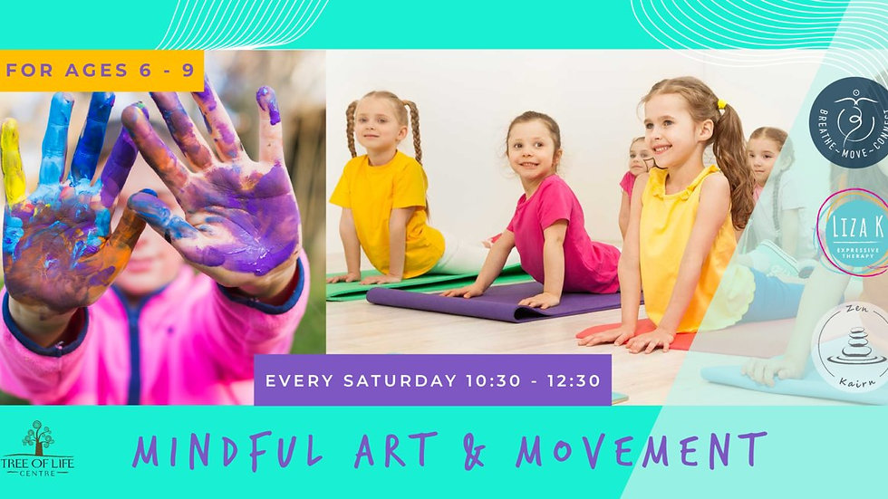 Mindful Art & Movement for Kids