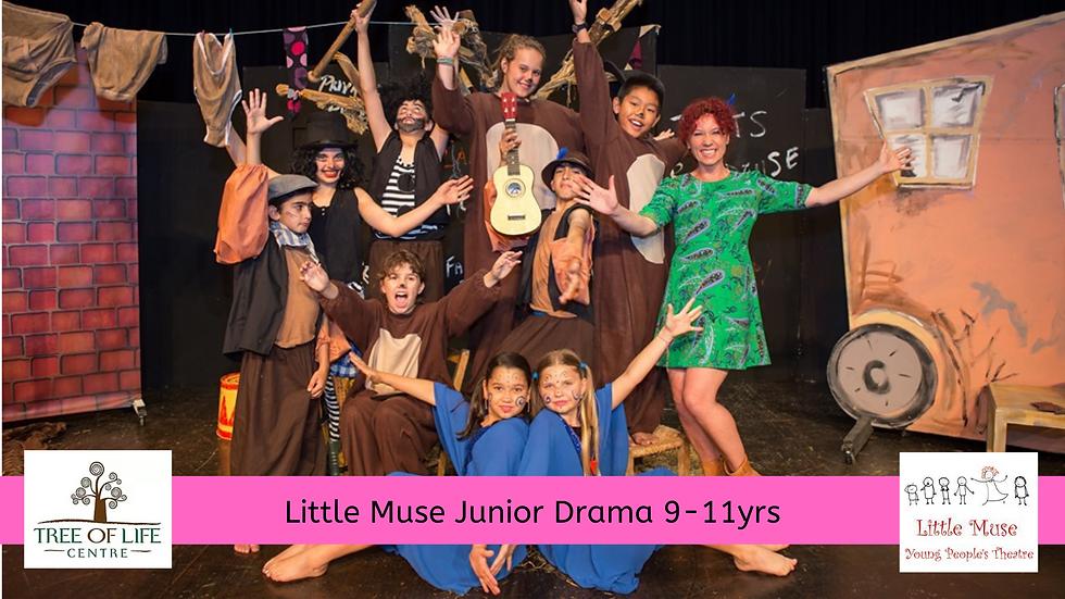 "Little Muse ""Junior Drama"" (9-11yrs)"