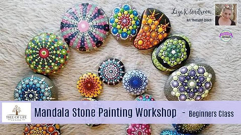 Mandala Stone Painting Workshop