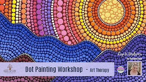 Dot Painting Workshop with Liza
