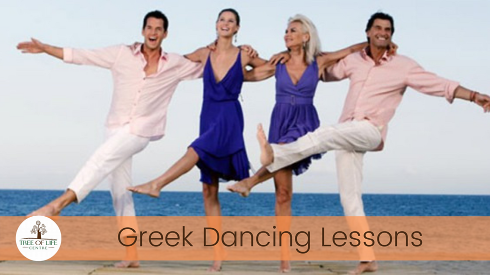 Greek Dancing with Anna