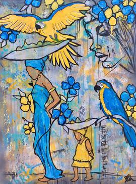 blueyellow.(Macaw)