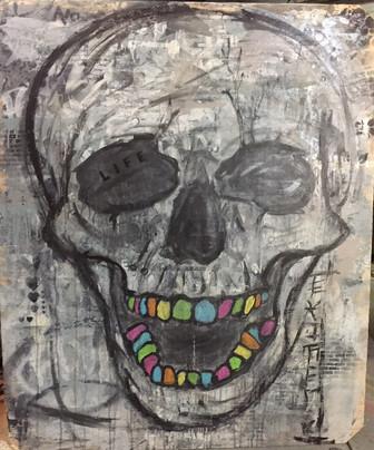 rainbow. (Skull 1)