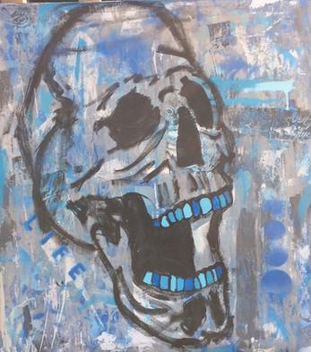 blue. (Skull 2)