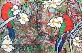 redgreen.(King Parrot)