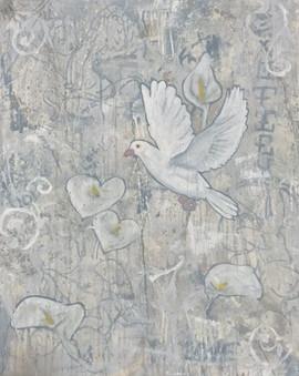 white.(Dove)