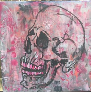 pink. (Skull 5)