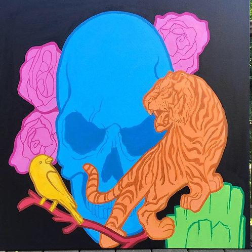 color skull. 1