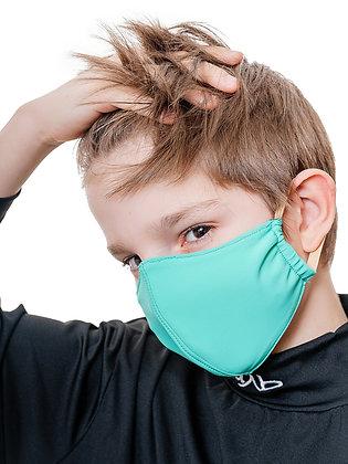 Многоразовая детская маска с карманом для фильтра гипоаллергенная МЗМ_дет/голуб.
