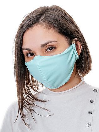 Многоразовая многослойная маска с карманом для фильтра МЗМ_ВЗР/голубой