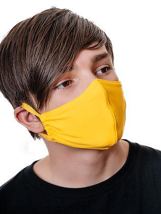 Многоразовая многослойная маска с карманом для фильтра  МЗМ_подр/желтый
