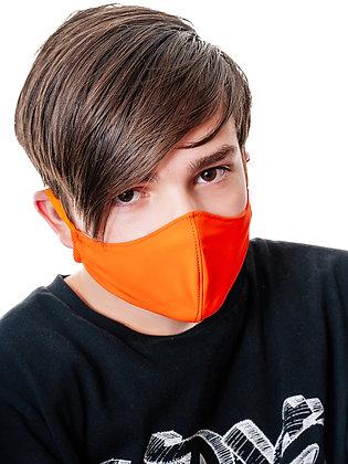 Многоразовая многослойная маска с карманом для фильтра МЗМ_подр/оранжевый