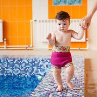 Плавки-подгузники для грудничков и малышей от 0 до 3 лет. Для бассейна и на море. Многоразовые, непромокаемые, SPF 50. Дизайнерский Кайракостюм.