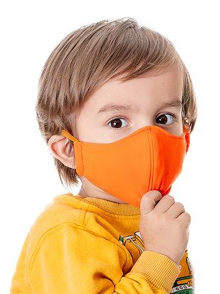 Многоразовая детская маска с карманом для фильтра гипоаллергенная (МЗМ_дет/оран)
