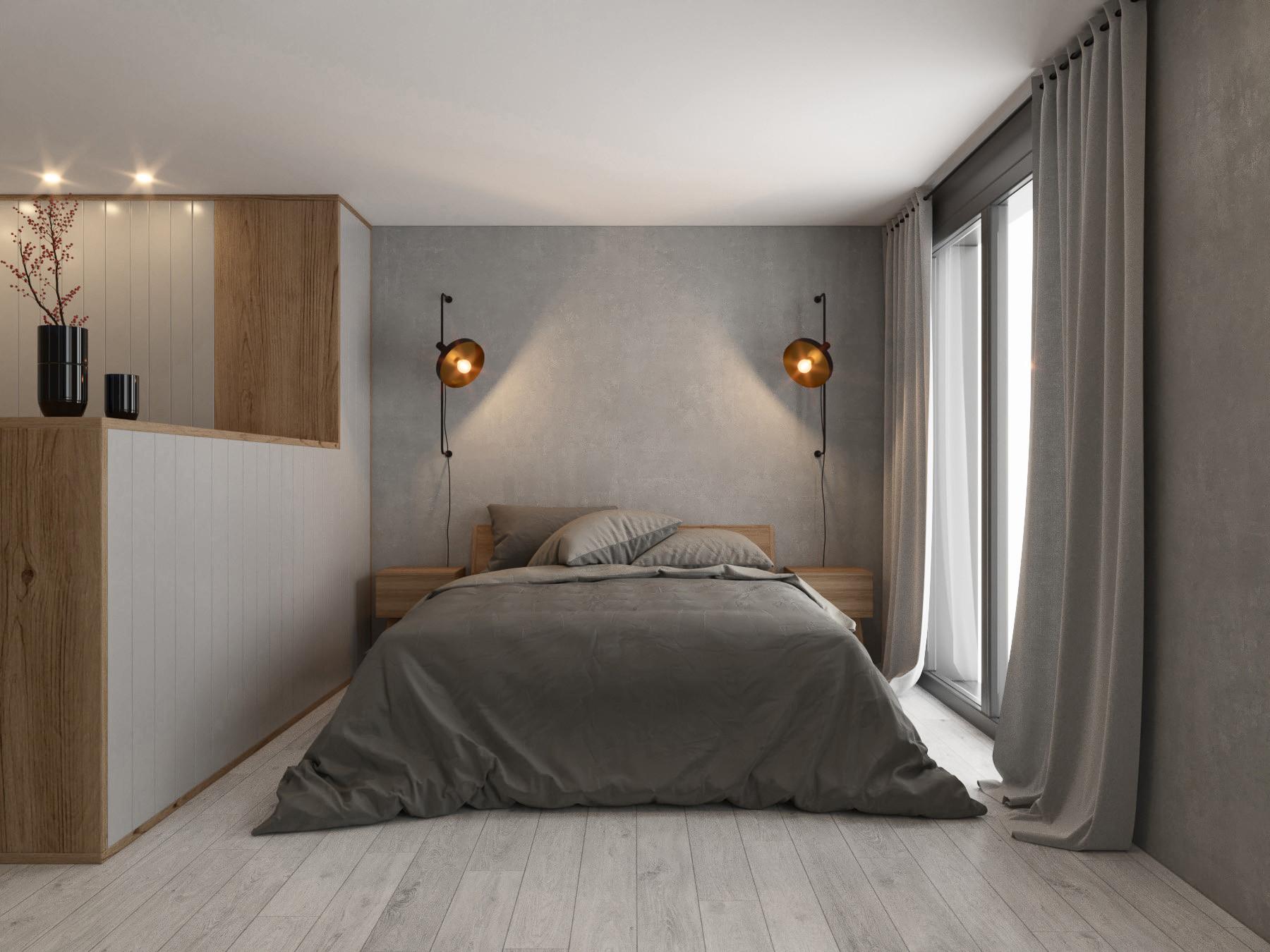arqxe, dormitorio, baño, tui