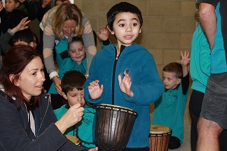 Drumming - Mira crop