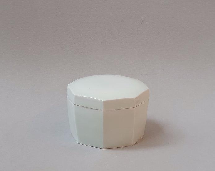Octagonal Lidded Pot