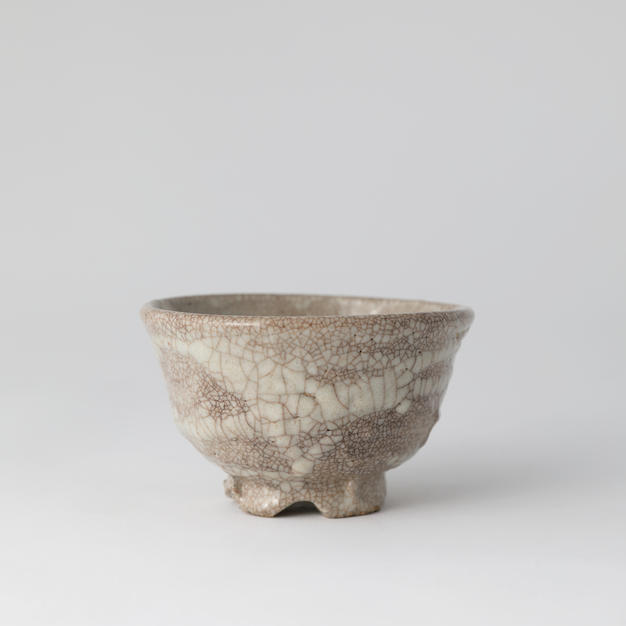 Yido tea bowl 고백자이도다완 by Ji Suntak