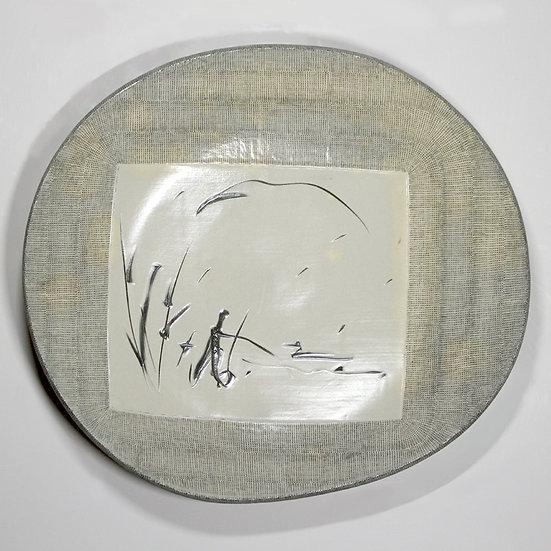 Buncheong Plate
