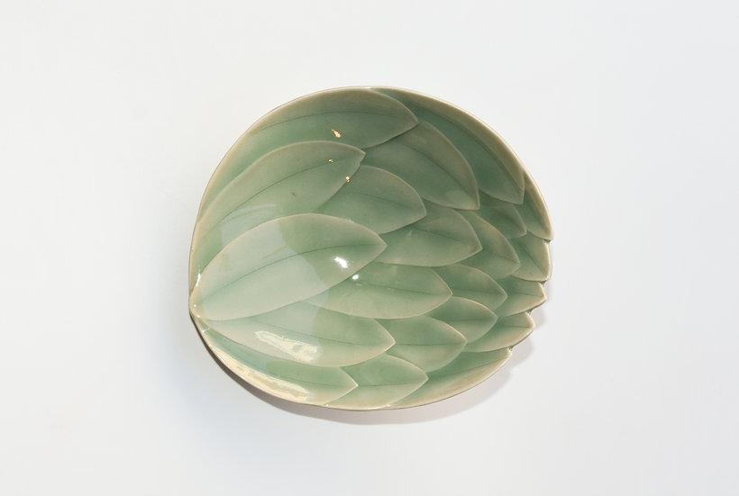 Celadon Lotus Dish