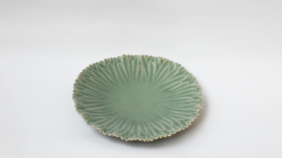 Plate Leaf Decoration (Large)