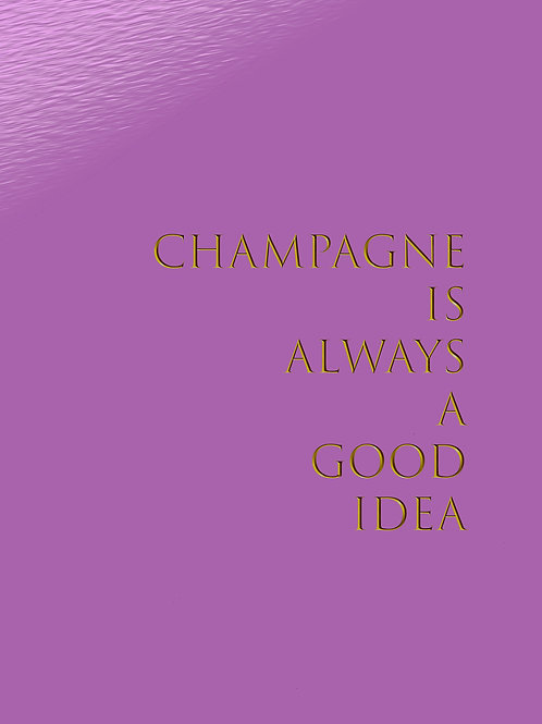 CHAMPAGNE by www.ideator.nu