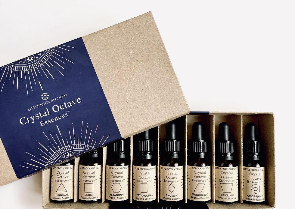 Crystal Octave Essences - the only 8 essences you'll ever need