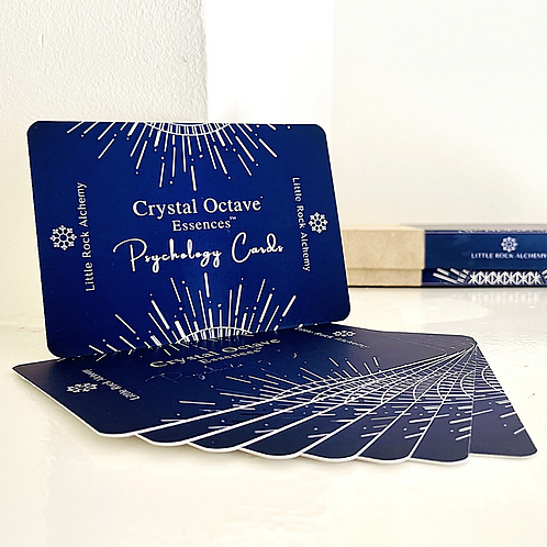Crystal Psychology Cards - for Crystal Octave Essences