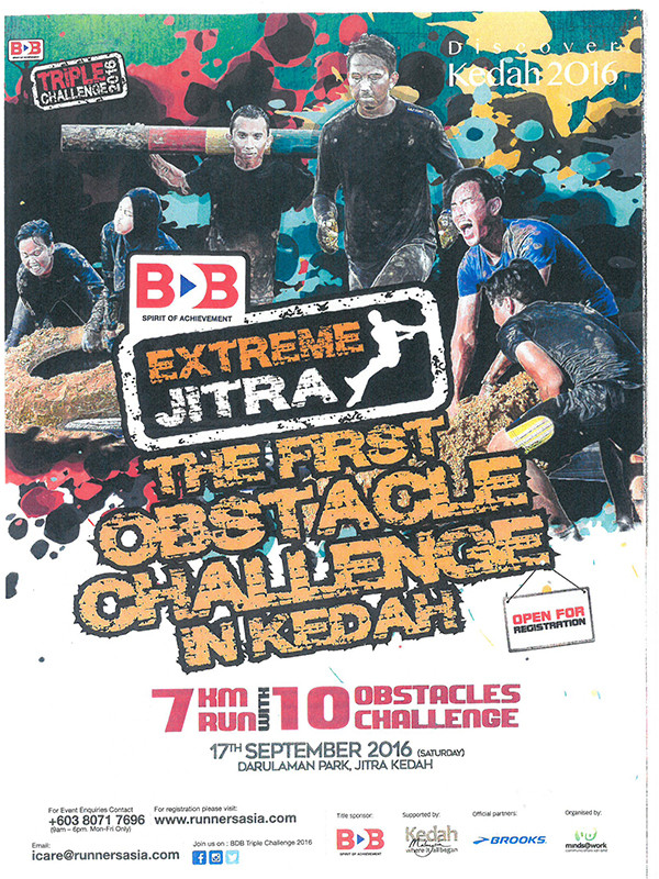 BDB Extreme Jitra - The First Obstacle Challenge in Kedah