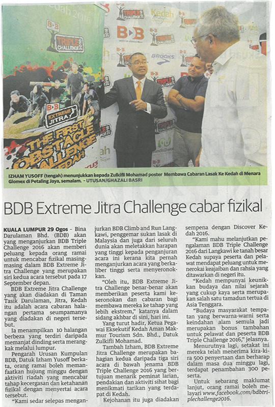BDB Extreme Jitra Challenge Cabar Fizikal