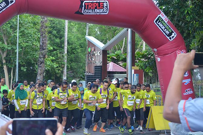 BDB Climb & Run Langkawi 2016