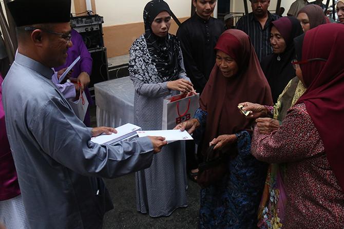 200 Penduduk Terima Sumbangan daripada BDB